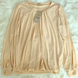 Brand new w/ tags Cream Blouse